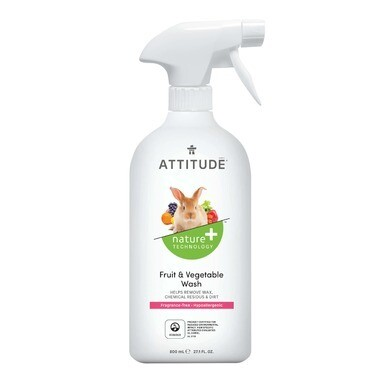Attitude Fruit and Vegetable Wash 800ml