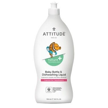 Attitude Nature+ Little Ones Dishwashing Liquid - 700ml