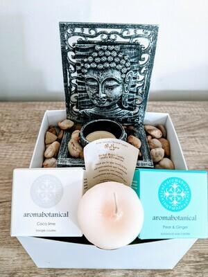 Candle Lover Gift Basket