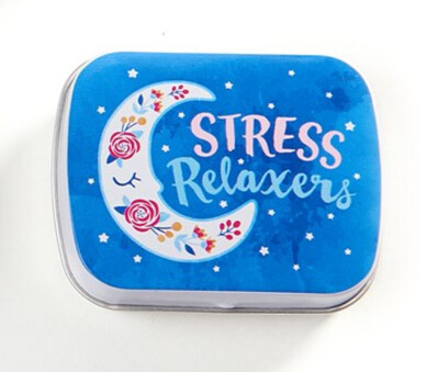 Vitamin/Pill Box - Stress Relaxers