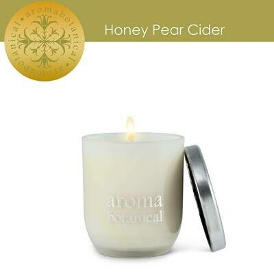 Aromabotanical Natural Mini Honey Pear Cider Candle