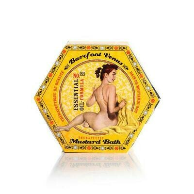 Barefoot Venus 100% Natural Mustard Bath Bliss 90g