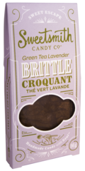 Sweetsmith Candy Co Green Tea Lavender Brittle 56g