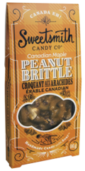 Sweetsmith Candy Co Canadian Maple Peanut Brittle 56g