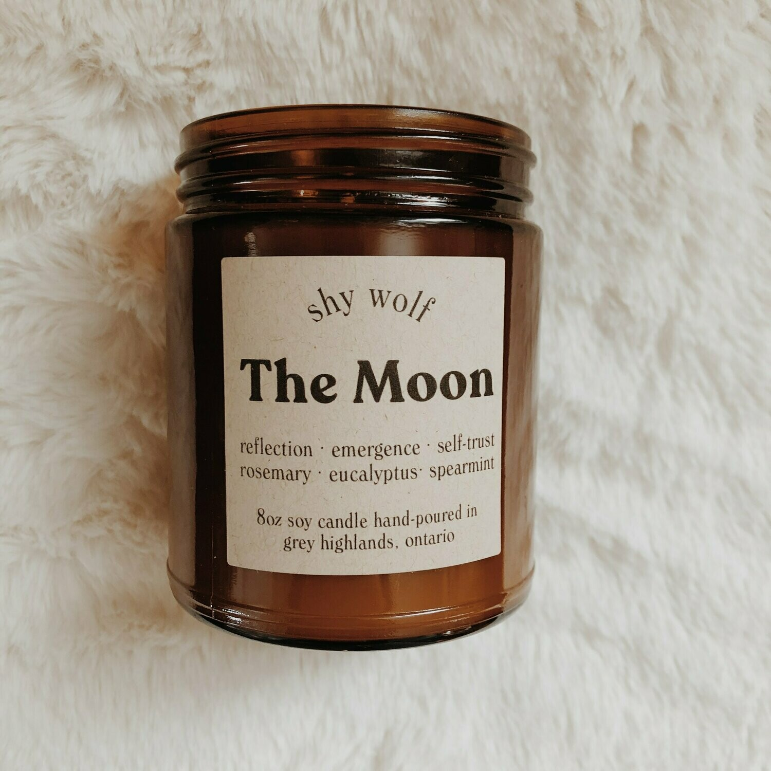 Shy Wolf Candles - The Moon