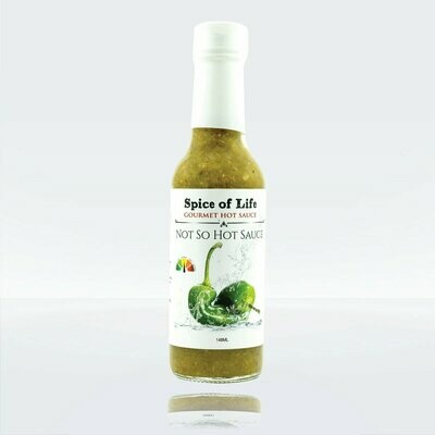 Spice of Life:  Gourmet Hot Sauce - Not So Hot