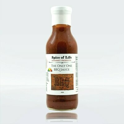 Spice of Life:  Gourmet Products - The Only One BBQ Sauce