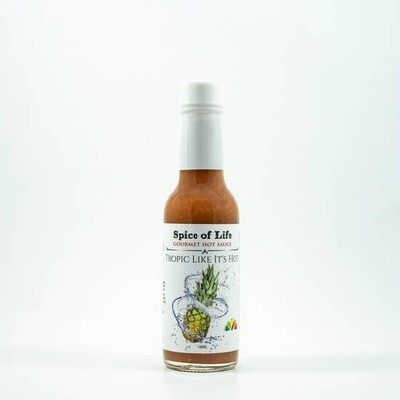 Spice of Life:  Gourmet Hot Sauce - Tropic Like It's Hot