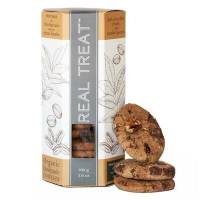 Real Treat - Dark Chocolate Chunk with Smoked Pecans