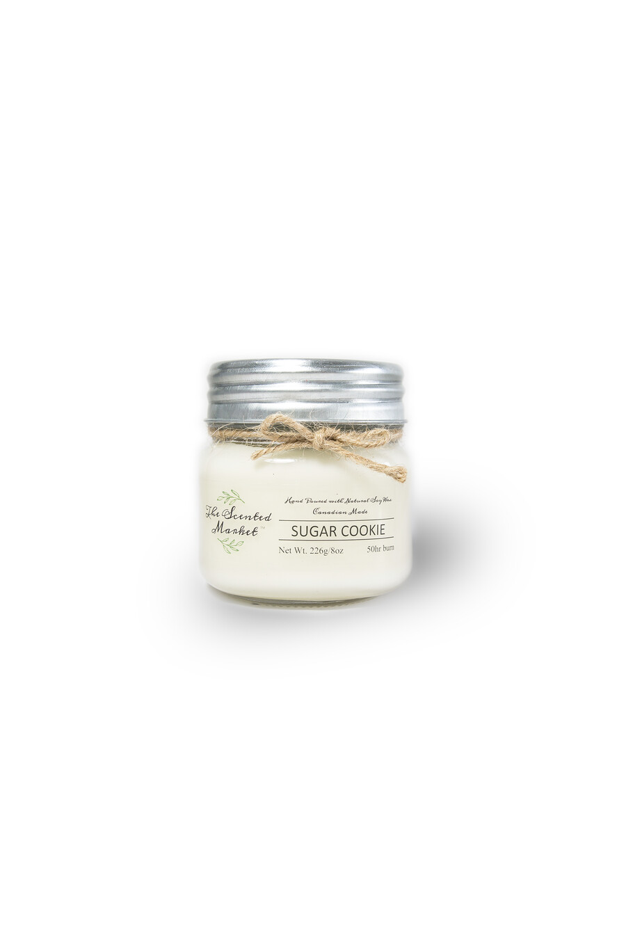 The Scented Market - Sugar Cookie Soy Wax Candle 8oz