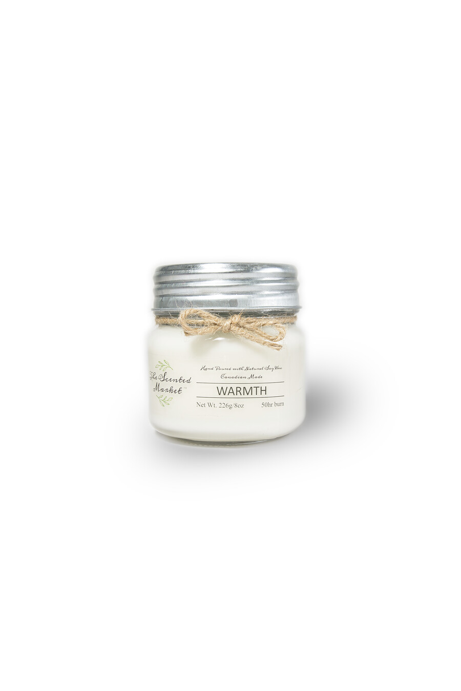 The Scented Market - Warmth Soy Wax Candle 8oz