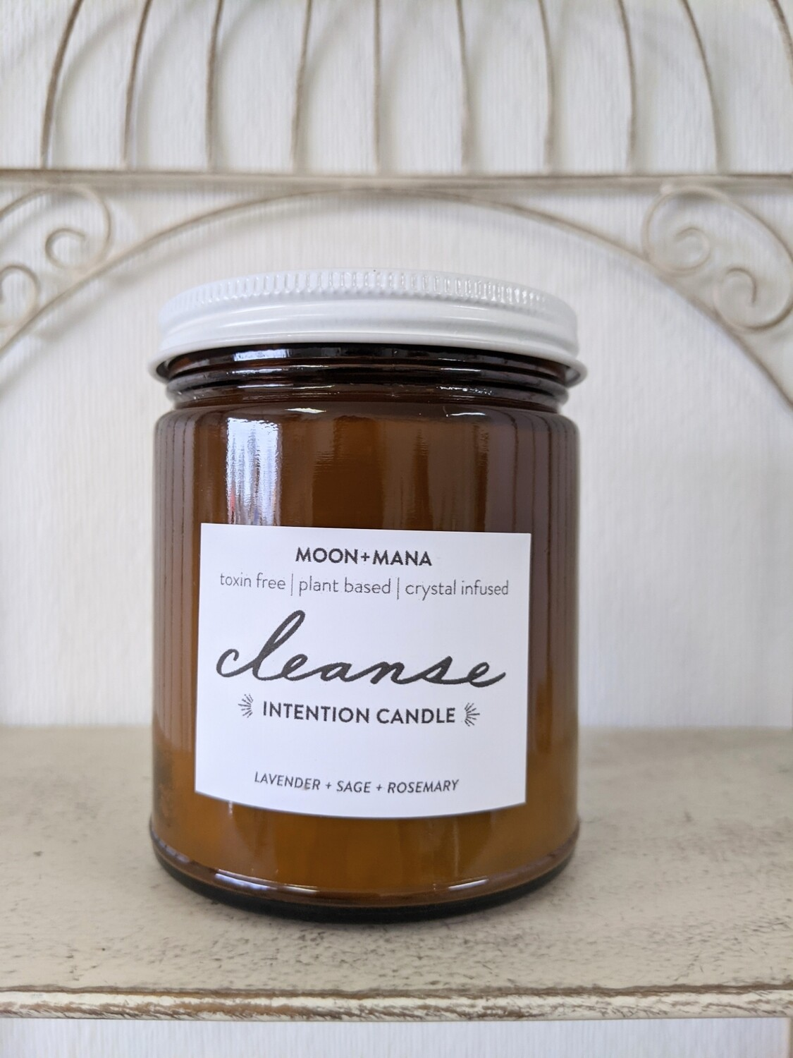 Moon & Mana Intention Candles - Cleanse 9oz