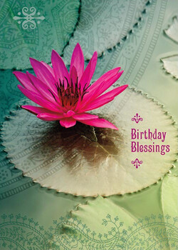 Greeting Cards - Birthday Blessings