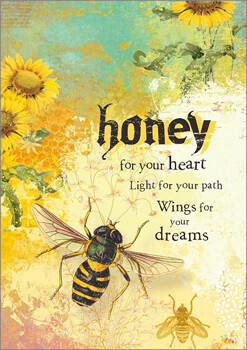 Greeting Card - Honey For Your Heart