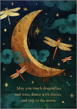 Greeting Card - May You Touch Dragonflies