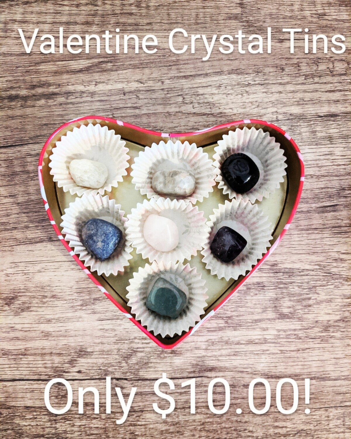 Valentine Crystal Tin