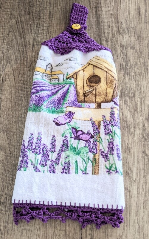 Dishcloth - Lavender