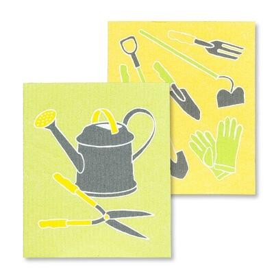 The Amazing Swedish Dishcloth - Garden Tools Set of 2