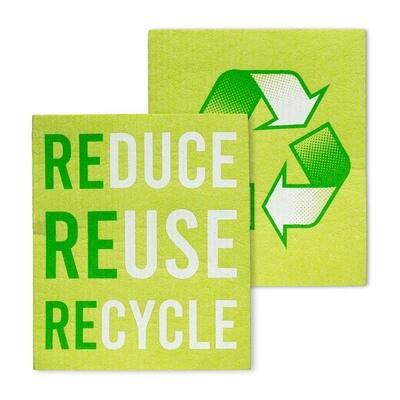 The Amazing Dishcloth - Recycle Set of 2