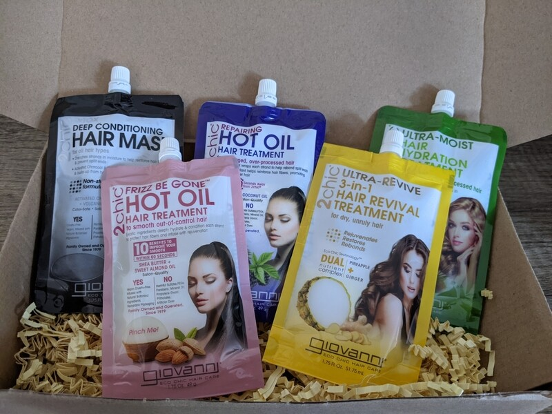 Natural Hair Care Set