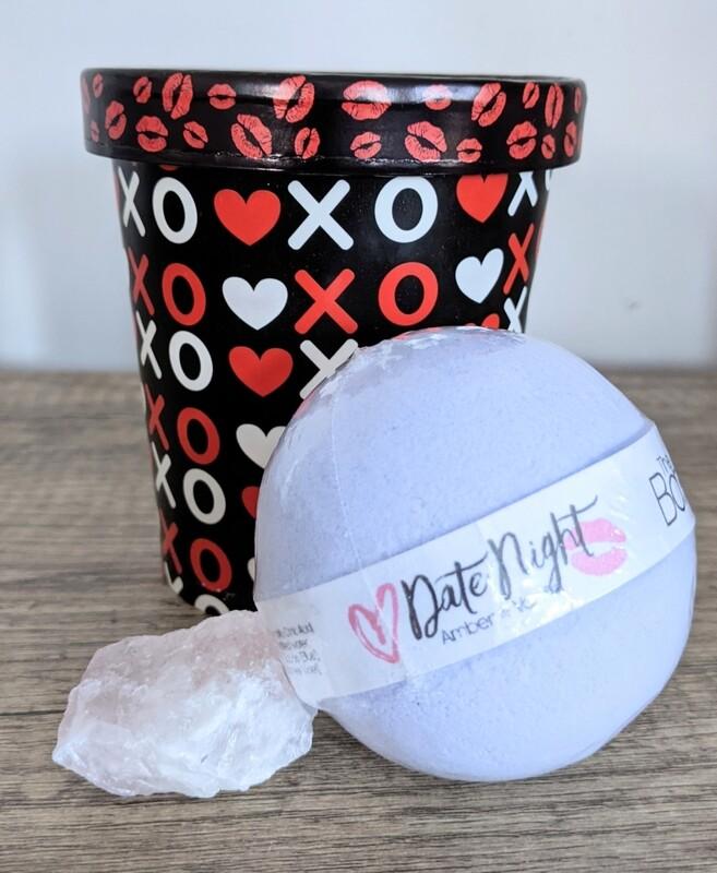 Valentine's Bath and Crystal Set - Date Night