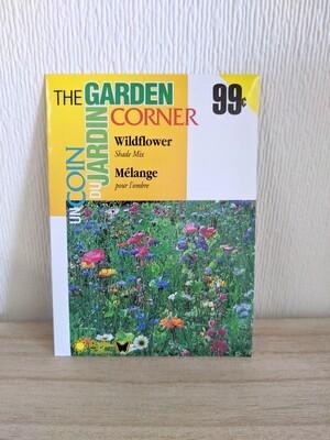 The Garden Corner - Wildflower Seeds (Shade Mix)