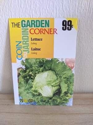 The Garden Corner - Lettice Seeds (Iceberg)