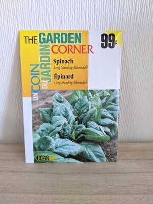 The Garden Corner - Spinach Seeds