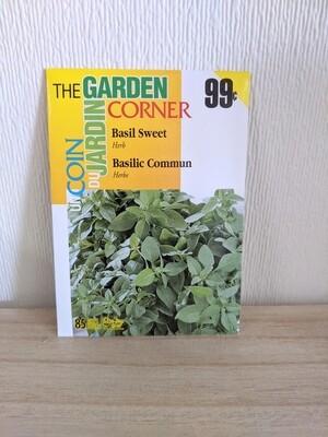 The Garden Corner - Basil Seeds (Sweet)