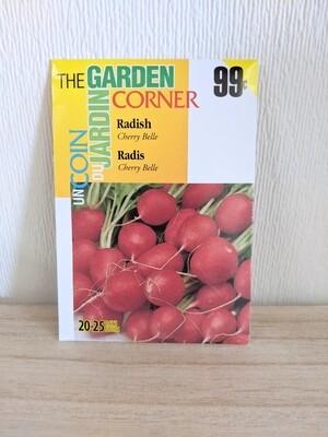 The Garden Corner - Radish Seeds (Cherry Belle)