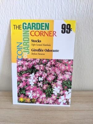 The Garden Corner - Stocks Seeds