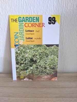 The Garden Corner - Lettuce Seeds (Leaf)