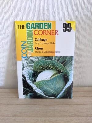 The Garden Corner - Cabbage Seeds