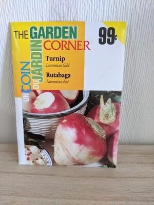 The Garden Corner - Turnip Seeds