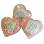 Himalayan Bath Salt Heart - Sold Individually