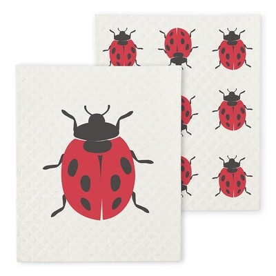 The Amazing Swedish Dishcloth - Ladybug