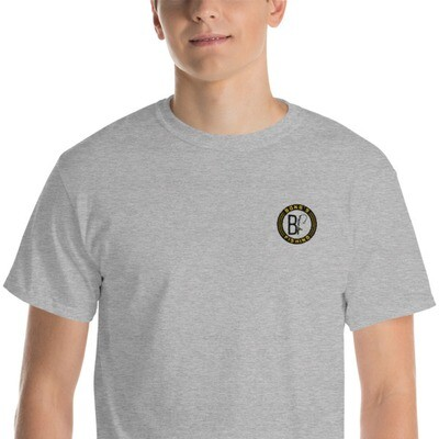 Black Label Embroidered T-Shirt