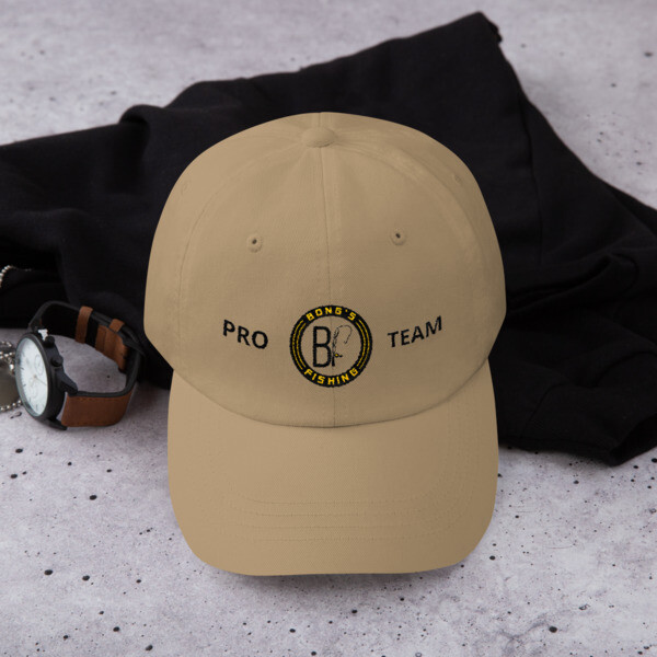 PRO TEAM Khaki embroidered cap