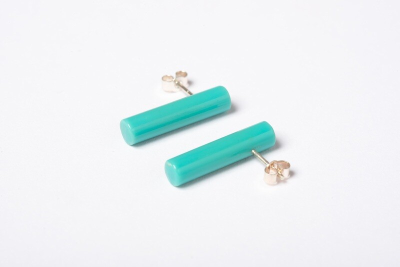 Found: Turquoise Post Earrings