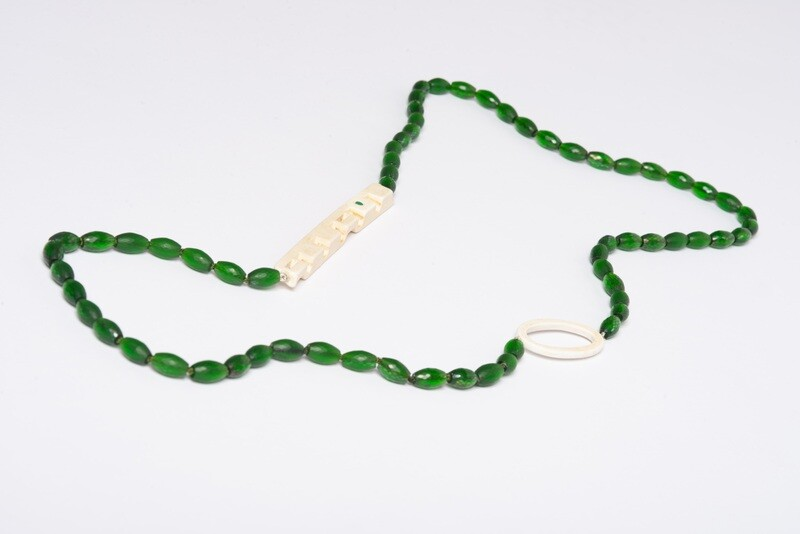 Found: Long Green Necklace