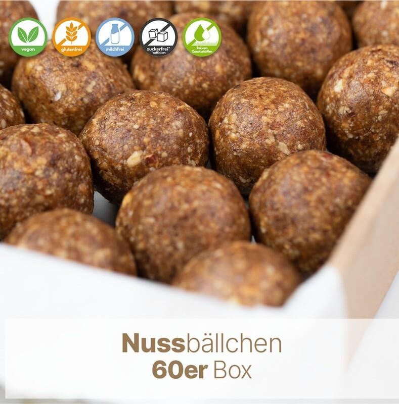 Nussbällchen 60er Box