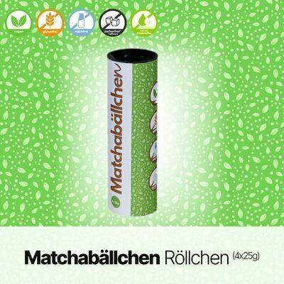 Matchabällchen Röllchen (4x25g)