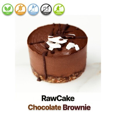 RawCake Chocolate-Brownie