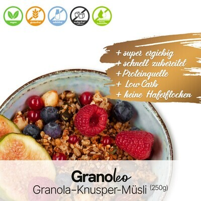 """Granola-Knusper-Müsli """"Granoleo"""""""
