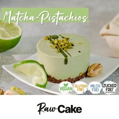 RawCake Matcha-Pistachios