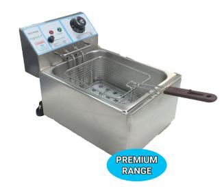 Premium 5.5 Ltr Counter Top Electric Deep Fat Fryer Single Tank