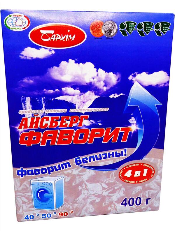 Стиральный порошок Айсберг Фаворит 400гр