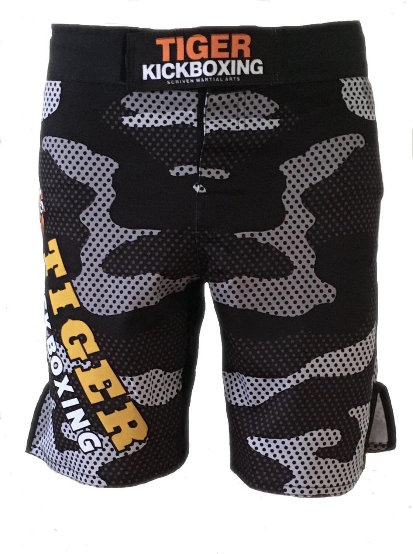 Tiger Camo MMA Fight Shorts