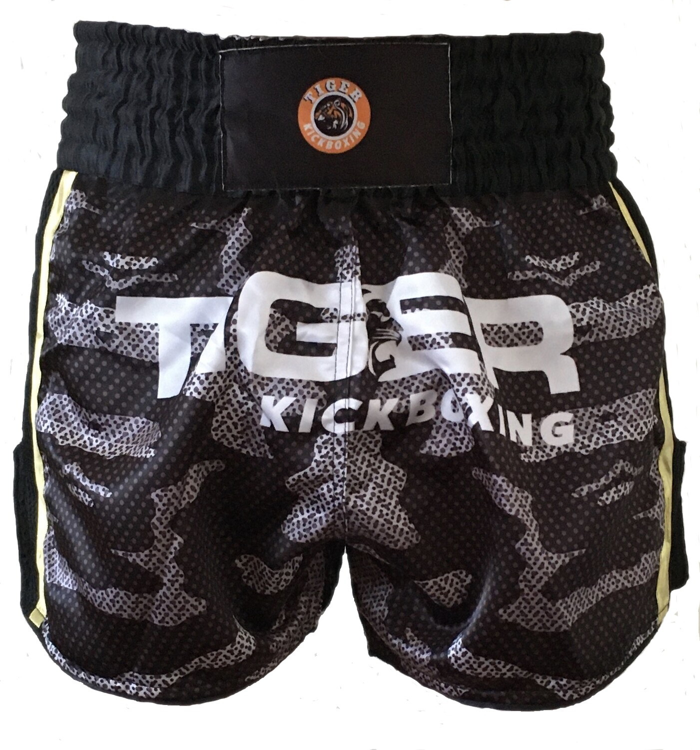 Tiger Kickboxing Camo Thai Style Fight Shorts