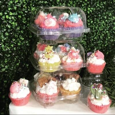 Cupcake Candles - 4 pack